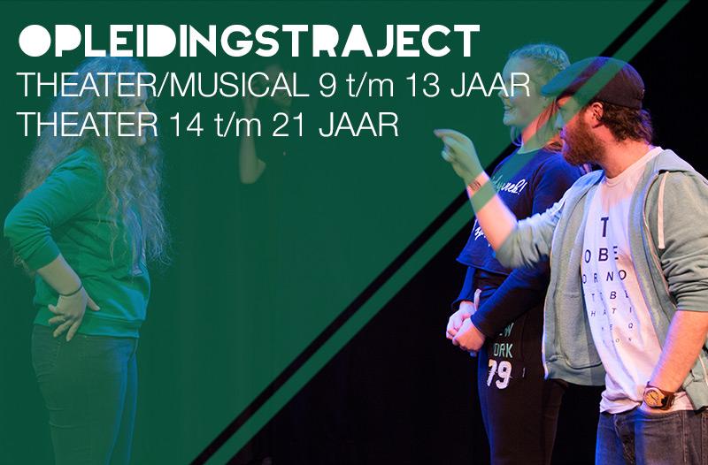 opleidingstrajecten theater en musical Jeugdtheaterschool Utrecht