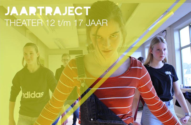 jaartraject theaterles theaterlessen jongeren jeugdtheaterschool Utrecht
