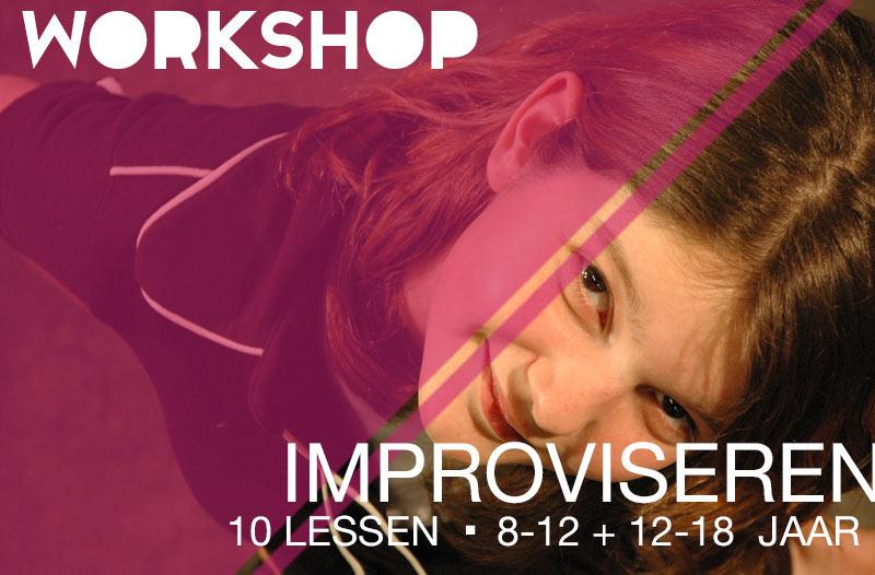 workshop improviseren jeugdtheaterschool utrecht