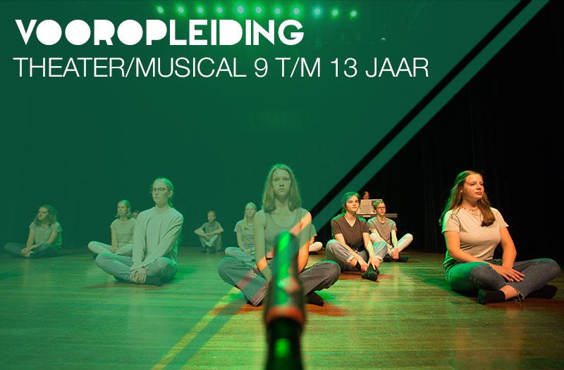 opleidingstraject theater/musical 9 t/m 13 jaar