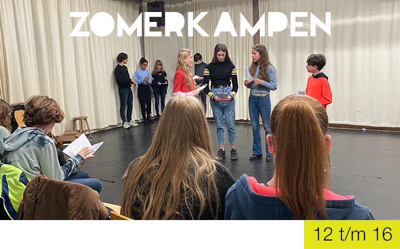 Zomerkampen - Jongeren - Jeugdtheaterschool Utrecht