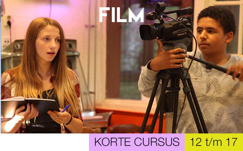 Cursus FILM jongeren - Jeugdtheaterschool Utrecht