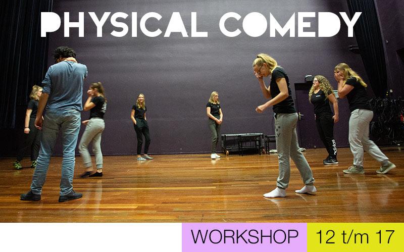 Physical Comedy jongeren - Jeugdtheaterschool Utrecht