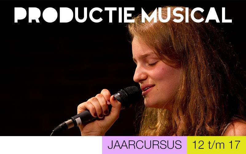 Productiegroep MUSICAL jongeren - Jeugdtheaterschool Utrecht