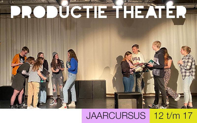 Productiegroep THEATER jongeren - Jeugdtheaterschool Utrecht