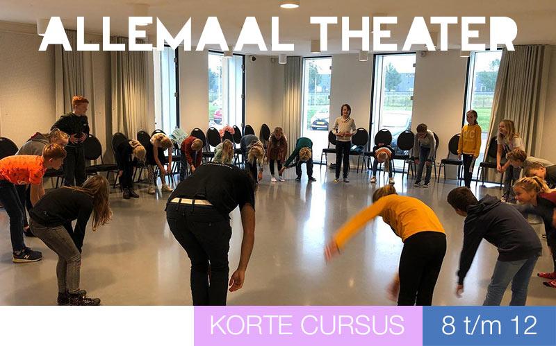 Allemaal Theater - kinderen - Jeugdtheaterschool Utrecht