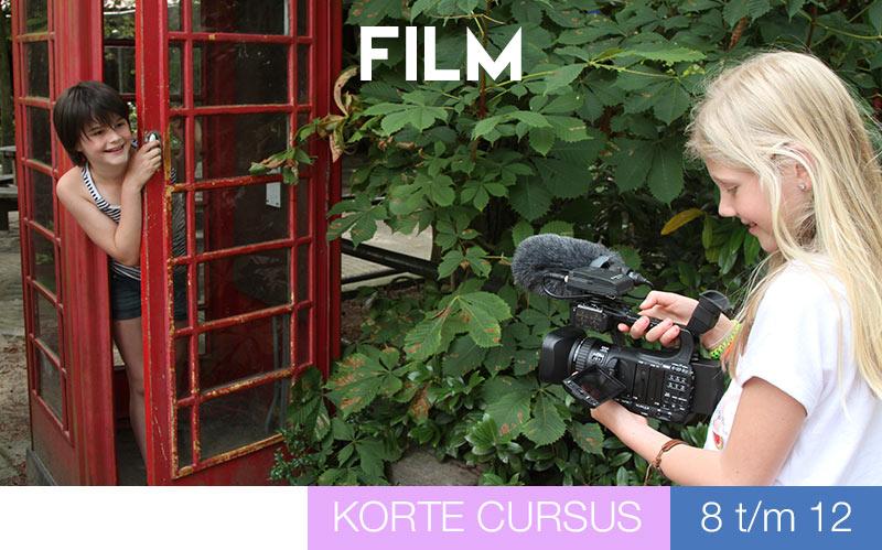 Cursus FILM - kinderen - Jeugdtheaterschool Utrecht