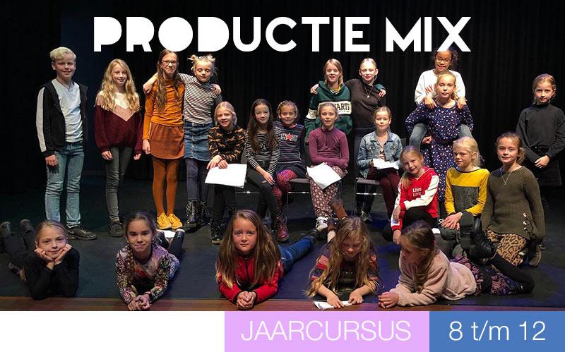 Productie Mix - theater en musical - kinderen - Jeugdtheaterschool Utrecht