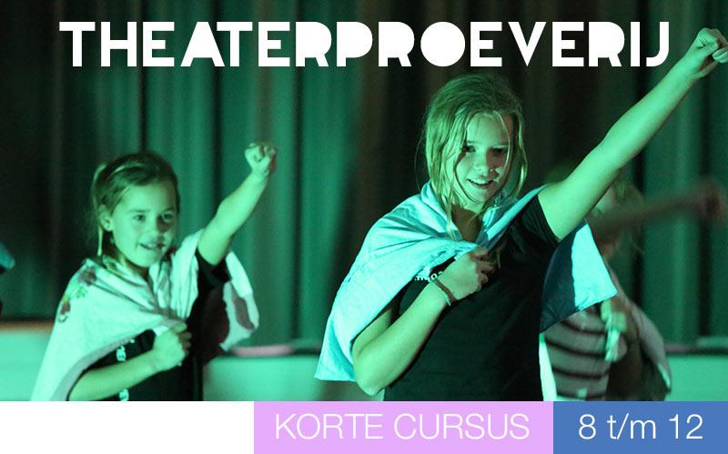 Proeven aan theater - kinderen - Jeugdtheaterschool Utrecht