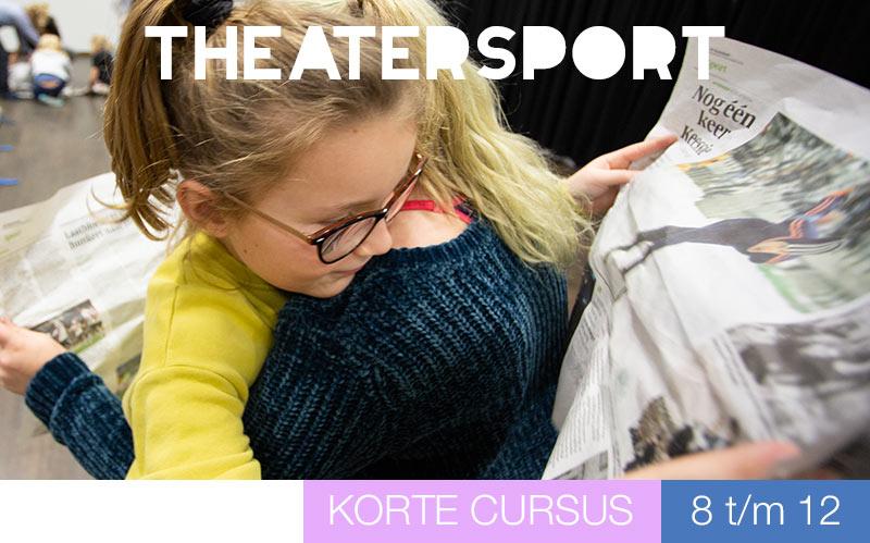 Theatersport voor kinderen - Jeugdtheaterschool Utrecht